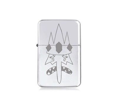 ★STAR★ ADVENTURE TIME petrol LIGHTER engraved silver black pink gold ICE KING