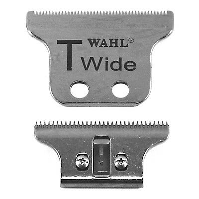 WAHL DETAILER 8081 - HERO NEW T-WIDE Double Wide BLADE SET 5 Star Series NEW