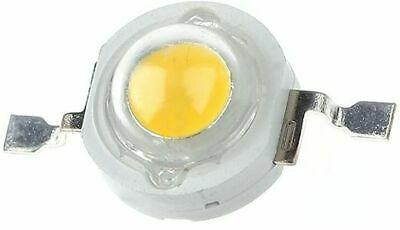 High Power 1W LEDs - Super Bright - White and Warm White, packs of 5, 10, 25, 50
