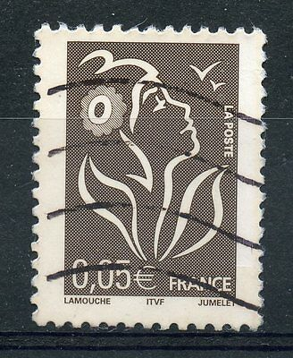 Stamp / Timbre France Oblitere N° 3754 Type Marianne De Lamouche