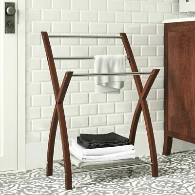 Marco 3-Arms  Free Standing Towel Hanger/Stand/Rail/Rack, Steel,Chrome-BR061