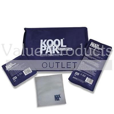 Koolpak Deluxe Reusable Hot Cold Ice Gel Pack First Aid Pain Relief Heat Pad