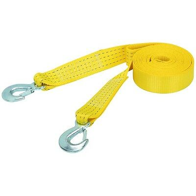 2'x20' Tow Strap Rope w/ Hooks Polyester Emergency Towing Recovery FREE SHIPPING