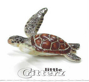 little Critterz Miniature- Green Sea Turtle - LC219 (Buy 5 get 6th free!)