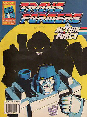 TRANSFORMERS #243 - 1991 - Marvel Comics Group UK