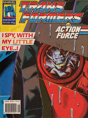 TRANSFORMERS #246 - 1989 - Marvel Comics Group UK