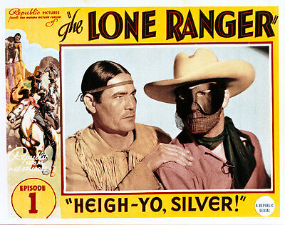8x10 Print Lee Powell The Lone Ranger Serial 1938 #3132