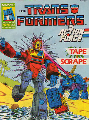 TRANSFORMERS #195 - 1989 - Marvel Comics Group UK