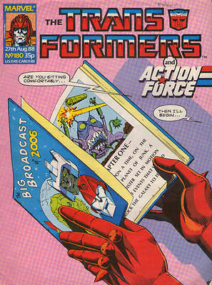 TRANSFORMERS #180 - 1988 - Marvel Comics Group UK