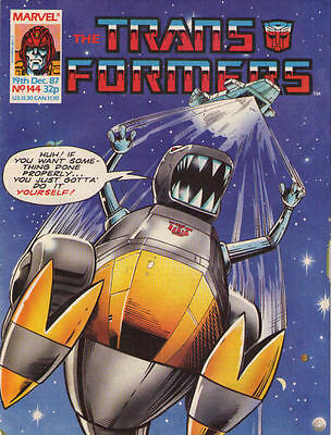 TRANSFORMERS #144 - 1987 - Marvel Comics Group UK
