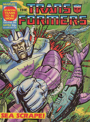 TRANSFORMERS #152 - 1987 - Marvel Comics Group UK