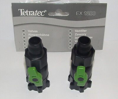 Tetratec Ex 1200 Taps/ Valves For Adapter. T703364. Th31491 • EUR 12,90