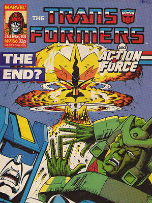 TRANSFORMERS #166 - 1988 - Marvel Comics Group UK
