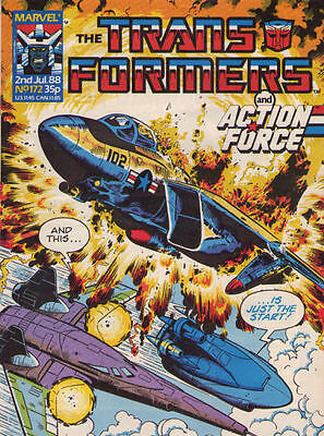 TRANSFORMERS #172 - 1988 - Marvel Comics Group UK