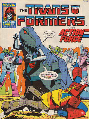 TRANSFORMERS #175 - 1988 - Marvel Comics Group UK