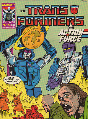 TRANSFORMERS #176 - 1988 - Marvel Comics Group UK