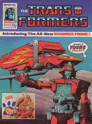 TRANSFORMERS #114 - 1987 - Marvel Comics Group UK