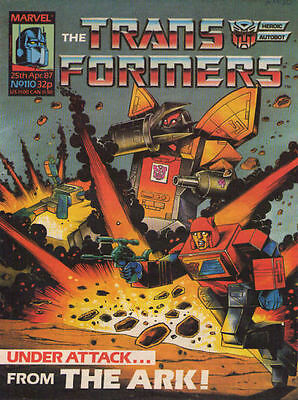 TRANSFORMERS #110 - 1987 - Marvel Comics Group UK
