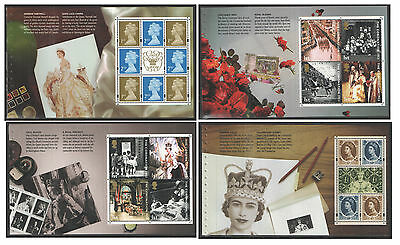 Individual Panes from DX31 / DB5(31) 2003 A Perfect Coronation Prestige Booklet