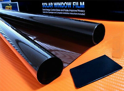 PRO LIMO BLACK 5% CAR WINDOW TINT ROLL 6m x 76 cm FILM TINTING