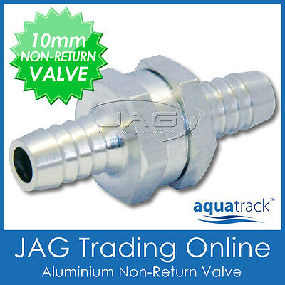 "10mm (3/8"") ALUMINIUM ONE WAY NON-RETURN CHECK VALVE- Petrol/Diesel/Water/Marine"