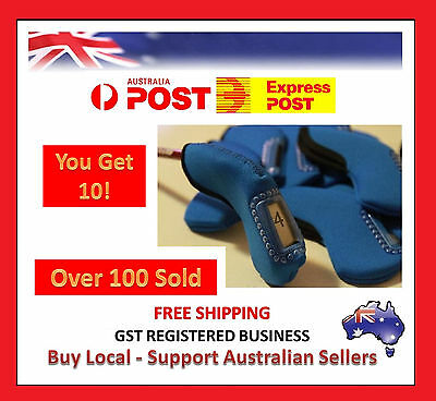 Blue Golf Iron Cover Head Covers X 10 - Over 5000 Feedback Super Sale
