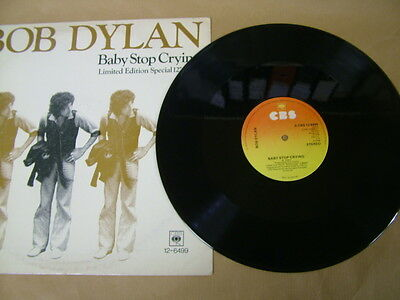 """Bob Dylan - Baby Stop Crying / New Pony - 12"""" - 45 Rpm"""