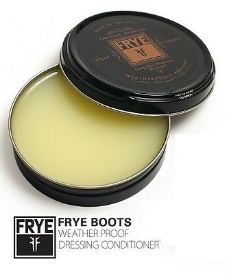 Frye Weatherproof Dressing Leather Conditioning Cream Neutral DP500