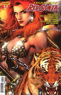 LEGENDS OF RED SONJA #5 - Cover A - New Bagged
