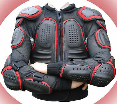 Motocross Motorcycle Body Armour Motorbike Spine Protector Guard