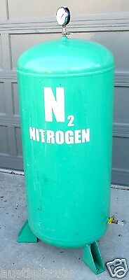 Gaseous Nitrogen Storage Tank N2 60 Gallon Tire Filling Silvan Industries USA