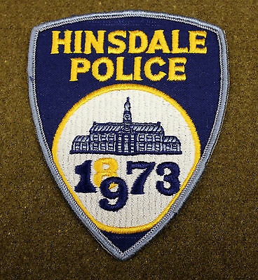 26461) Patch Hinsdale Illinois Police Department Insignia Sheriff