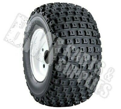 18 x 9.50-8 Knobby Tire & Rim for Go Kart Lawn Mower Carts 18x9.50-8 NEW