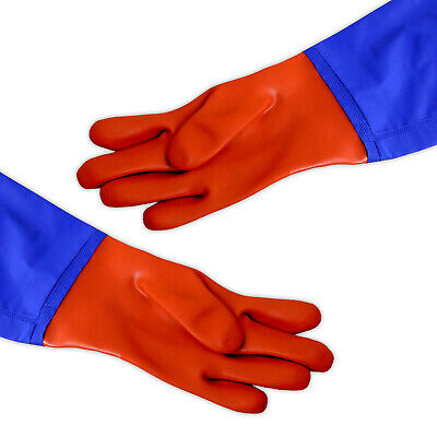 OASIS LONG GLOVES 60cm (SIZE LARGE) FOR POND MAINTENANCE MUD DIRTY WATER GARDEN