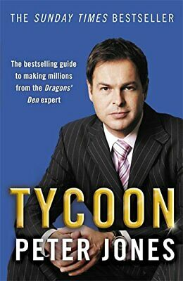Tycoon by Jones, Peter Paperback Book The Cheap Fast Free Post