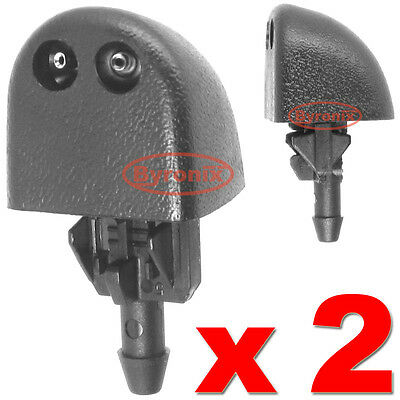 Renault Trafic Windscreen Washer Jets Front Water Nozzle Spray X2