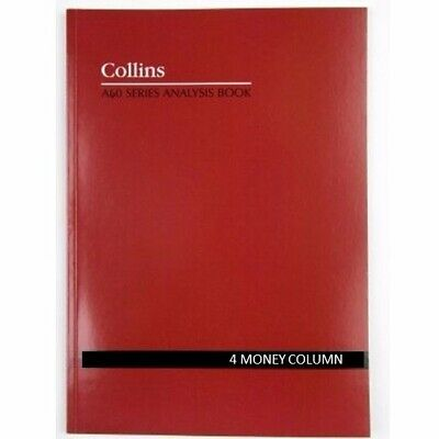 Collins A60 4 Money Column Account Book 120P A4 10304