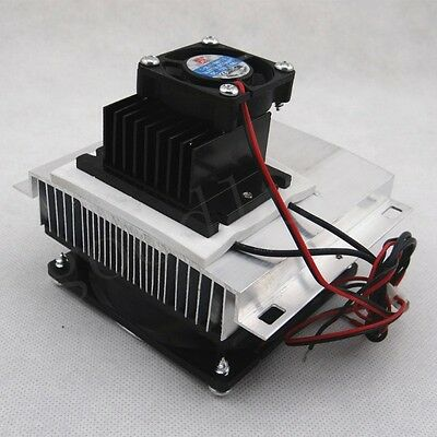 Thermoelectric Peltier Refrigeration Cooling System Kit Cooler TEC1-12705 DIY