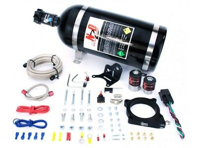 Nitrous Outlet Wet Plate Nitrous Kit - 2011-Up Mustang GT 5.0L 50-200HP Jetting