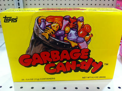 Vintage Topps Garbage Candy Can-Dy New Sealed