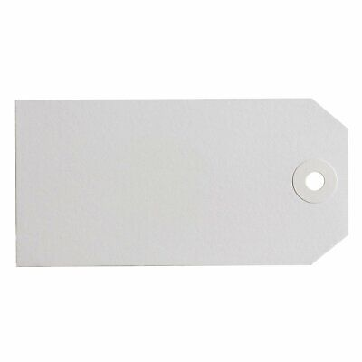 Avery White Manilla Shipping Tags 134x67mm Size 6 1000/Pack - 16160