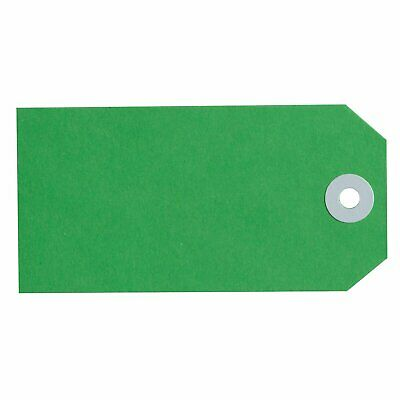 Avery Green Manilla Shipping Tags 160x80mm Size 8 1000/Pack - 18130