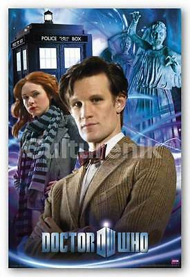 SCIENCE FICTION POSTER Doctor Who Collage