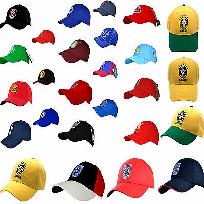 Football Club Crest Mens Adult Baseball Sports Peak Cap Golf Sun Visor & Hat