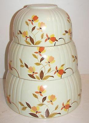 Hall's Autumn Leaf Mixing Bowl Set of 3