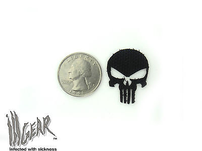 """ill Gear REPLACEMENT VELCRO for Punisher Skull (SMALL) 1"""" X 1"""""""