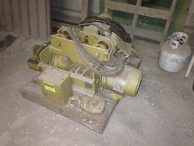 Yale electric 2 ton overhead cable winch