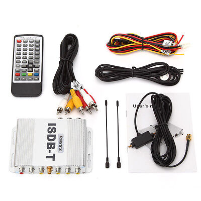 ISDBT car digital TV box car TV receiver for South America and Japan