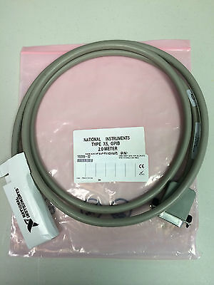 NEW - National Instruments GPIB Cable 182009-02,  Type X5, 2 meters