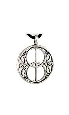 Chalice Well Amulet - Pewter